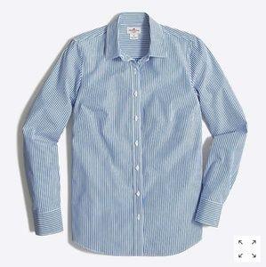 J. Crew Factory Haberdashery Striped Classic Shirt